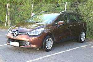 Vuokraa henkilöauto Renault Clio STW