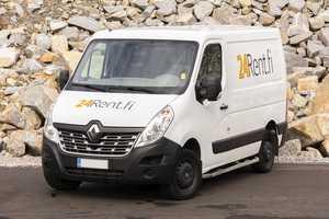 Vuokraa pakettiauto Renault Master 8m³