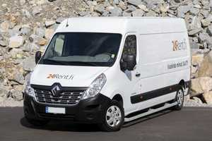 Vuokraa pakettiauto Renault Master 13m³