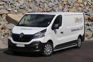 Vuokraa pakettiauto Renault Trafic 6m³